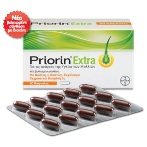 Bayer PRIORIN EXTRA Κάψουλες (60τεμ)
