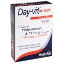 Day-vit Active CO Q10 & Ginseng